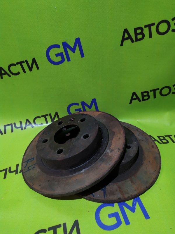 Тормозной диск Opel Astra L69 Z16XER 2008 задний (б/у)