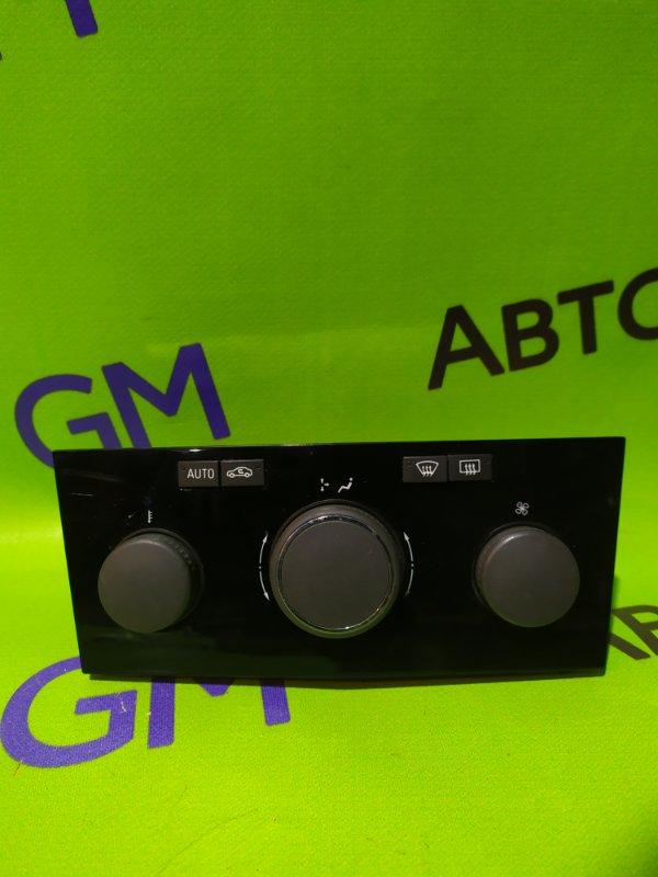 Блок управления климат-контролем Opel Astra L69 Z16XER 2008 (б/у)