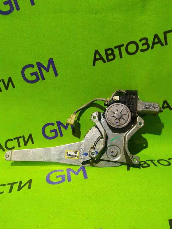 Механизм стеклоподъемника Ford Ranger ES WLAT 2010 задний правый (б/у)