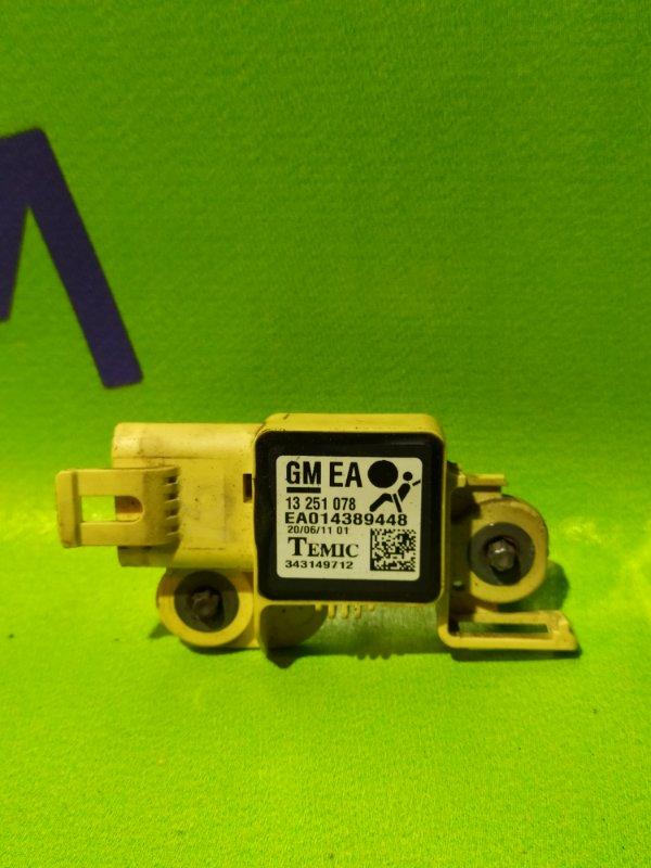 Датчик airbag Opel Zafira B Z18XER 2011 правый (б/у)