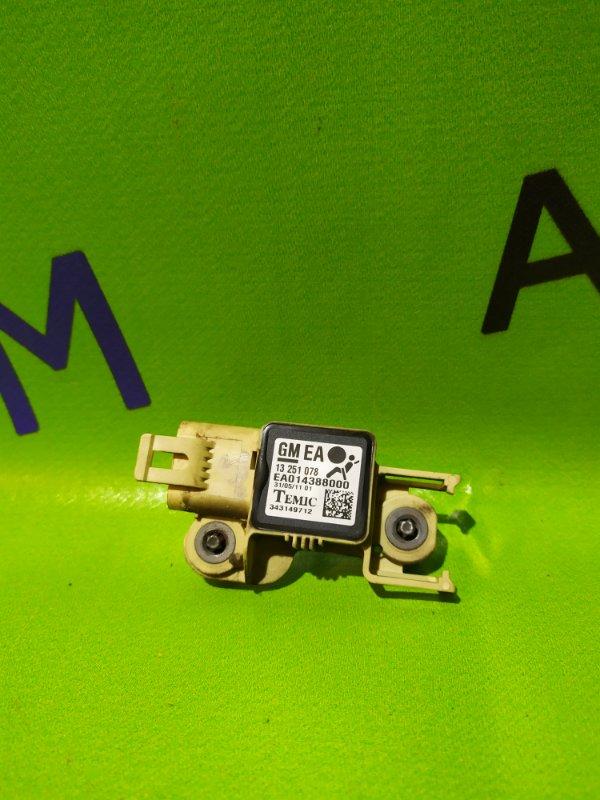 Датчик airbag Opel Zafira B Z18XER 2011 левый (б/у)
