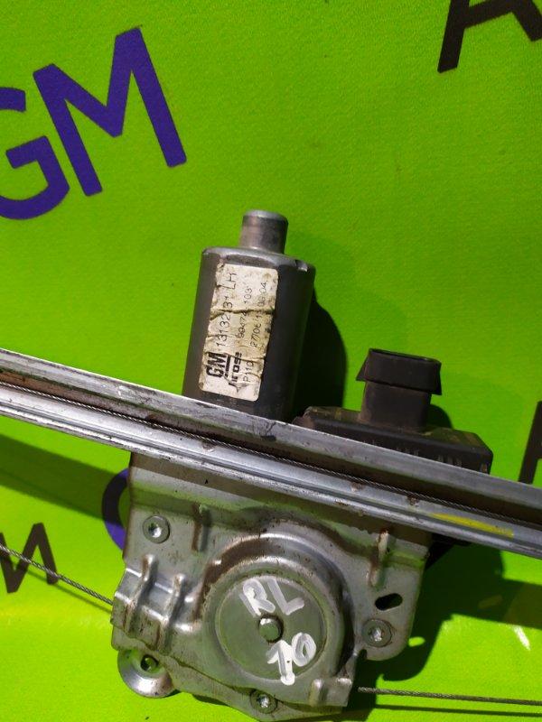 Мотор стеклоподъемника Opel Zafira B Z18XER 2011 задний левый (б/у)