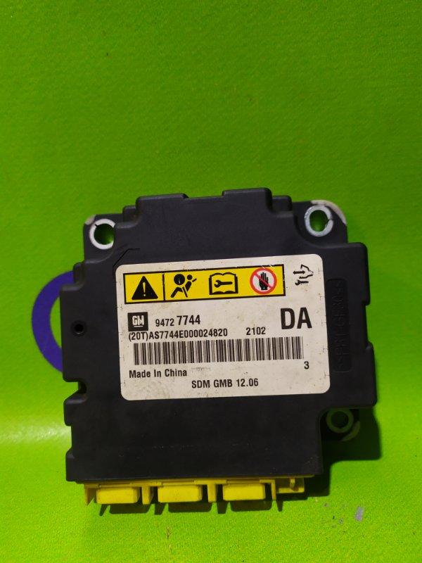 Блок управления airbag Chevrolet Trailblazer 31UX LY7 2012 (б/у)