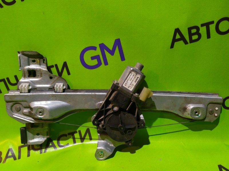 Стеклоподъемник Chevrolet Aveo T300 F16D4 2013 задний правый (б/у)