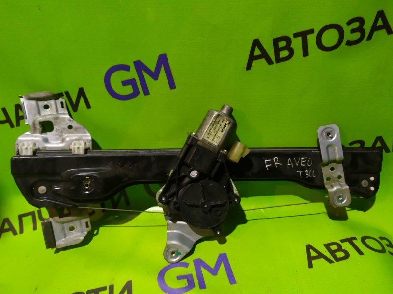 Стеклоподъемник Chevrolet Aveo T300 F16D4 2013 передний правый (б/у)
