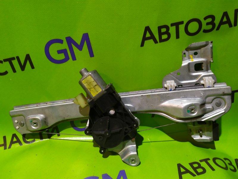 Стеклоподъемник Chevrolet Aveo T300 F16D4 2013 задний левый (б/у)