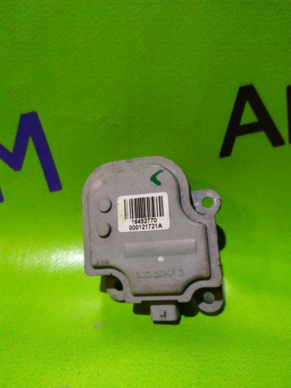 Моторчик заслонки печки Chevrolet Aveo T300 F16D4 2013 (б/у)