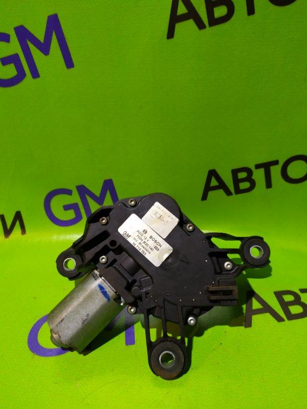Моторчик стеклоочистителя Chevrolet Trailblazer 31UX LY7 2012 задний (б/у)