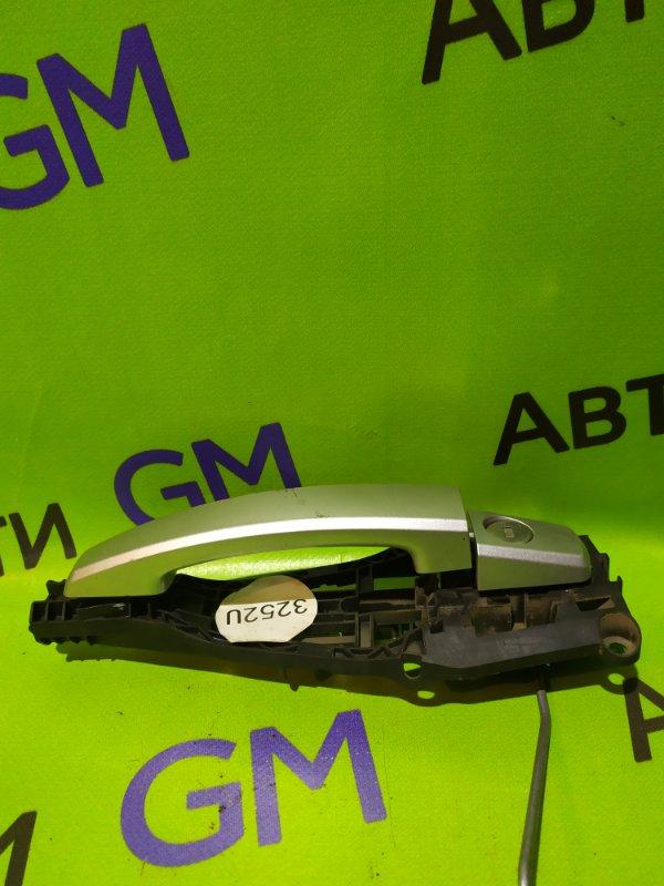Ручка двери внешняя Chevrolet Aveo T300 F16D4 2013 передняя левая (б/у)
