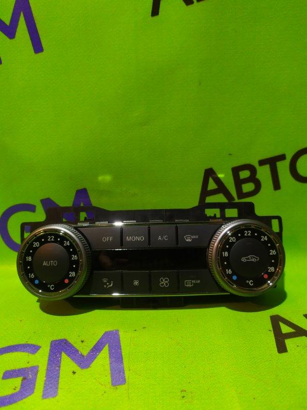 Блок управления климат-контролем Mercedes-Benz C-Class W204 M272 KE 30 2008 (б/у)