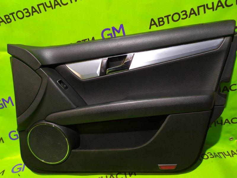 Обшивка двери Mercedes-Benz C-Class W204 M272 KE 30 2008 передняя правая (б/у)