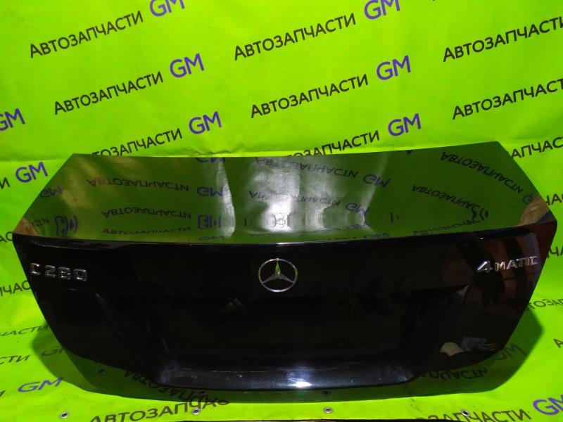 Крышка багажника Mercedes-Benz C-Class W204 M272 KE 30 2008 (б/у)
