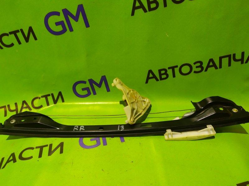 Механизм стеклоподъемника Mercedes-Benz C-Class W204 M272 KE 30 2008 задний правый (б/у)