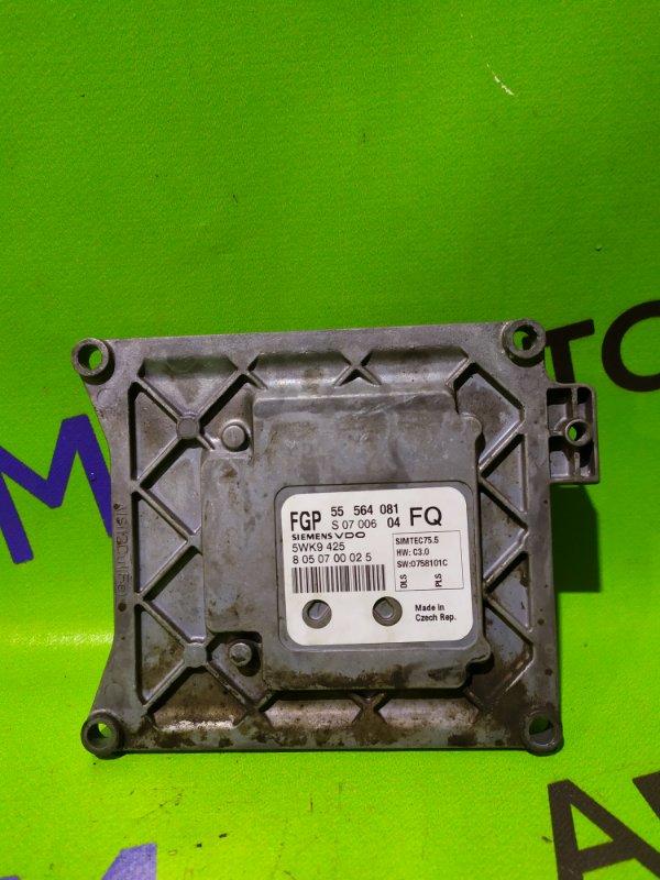 Блок управления двигателем Opel Astra L69 Z18XER 2008 (б/у)