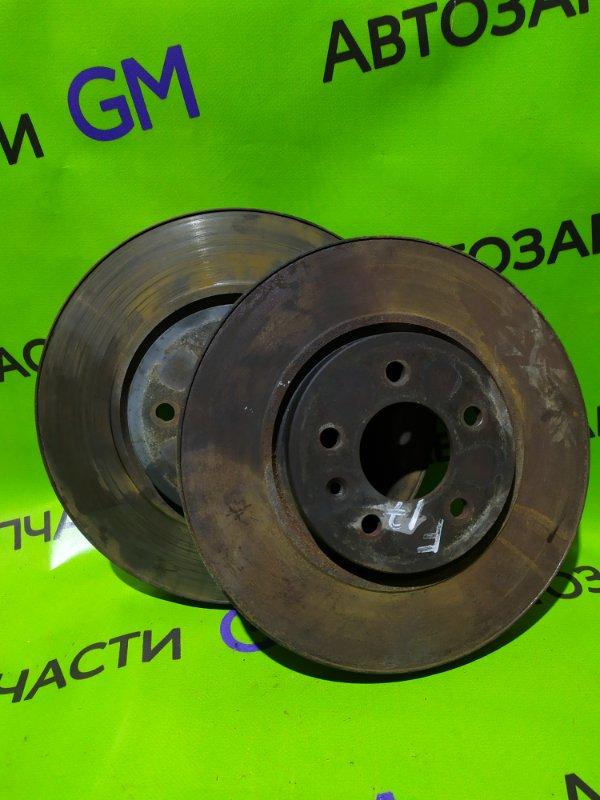 Тормозной диск Opel Astra J Gtc P10 A14NET 2012 передний (б/у)