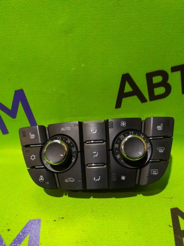 Блок управления климат-контролем Opel Astra J Gtc P10 A14NET 2012 (б/у)