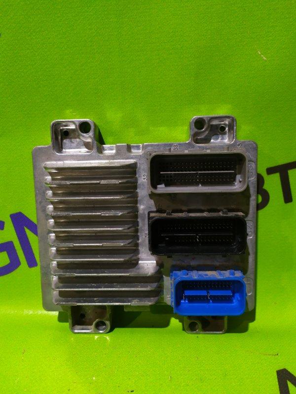 Блок управления двигателем Opel Astra J Gtc P10 A14NET 2012 (б/у)