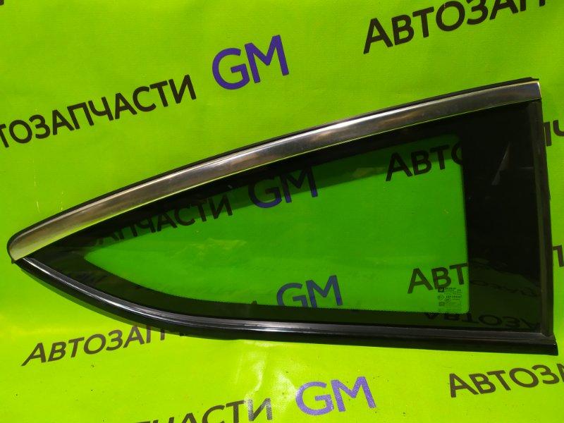 Стекло Opel Astra J Gtc P10 A14NET 2012 заднее правое (б/у)