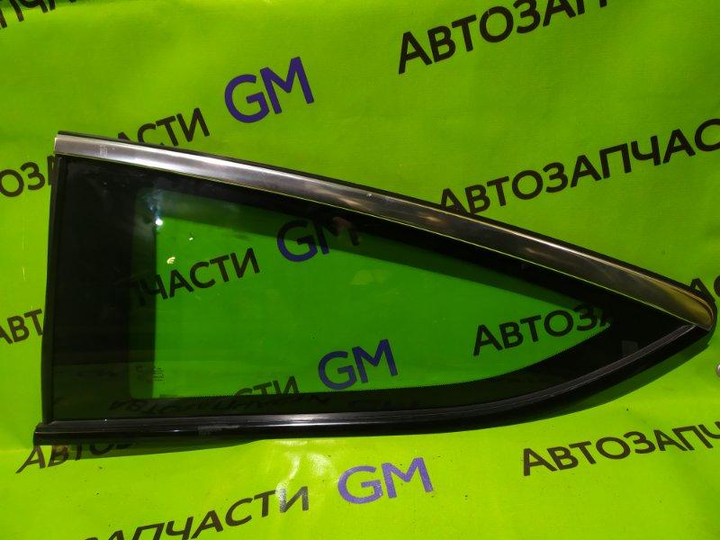 Стекло Opel Astra J Gtc P10 A14NET 2012 заднее левое (б/у)