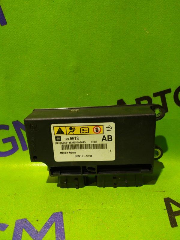 Блок управления airbag Opel Astra J Gtc P10 A14NET 2012 (б/у)