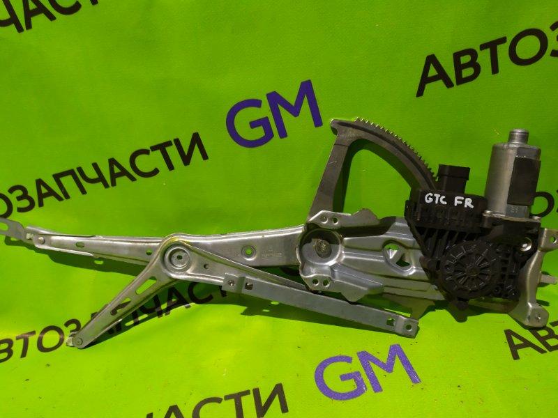 Механизм стеклоподъемника Opel Astra Gtc L08 передний правый (б/у)