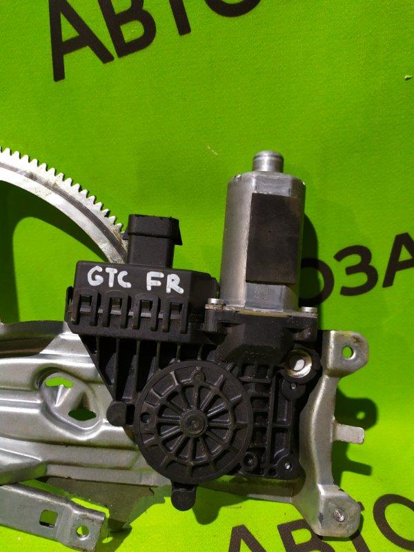 Мотор стеклоподъемника Opel Astra Gtc L08 передний правый (б/у)