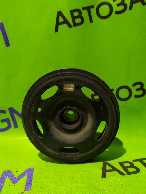 Шкив коленвала Opel Corsa D A14XER 2012 (б/у)