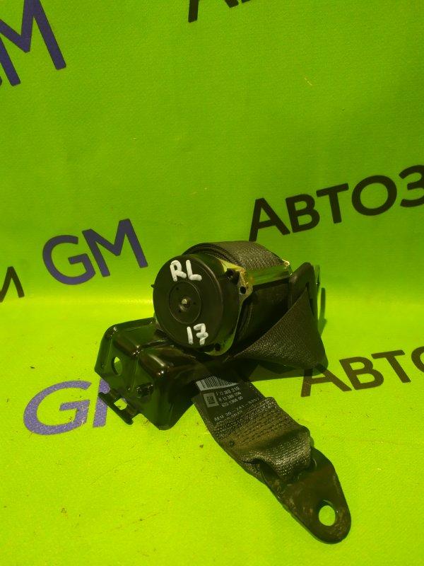 Ремень безопасности Opel Astra J Gtc P10 A14NET 2012 задний левый (б/у)