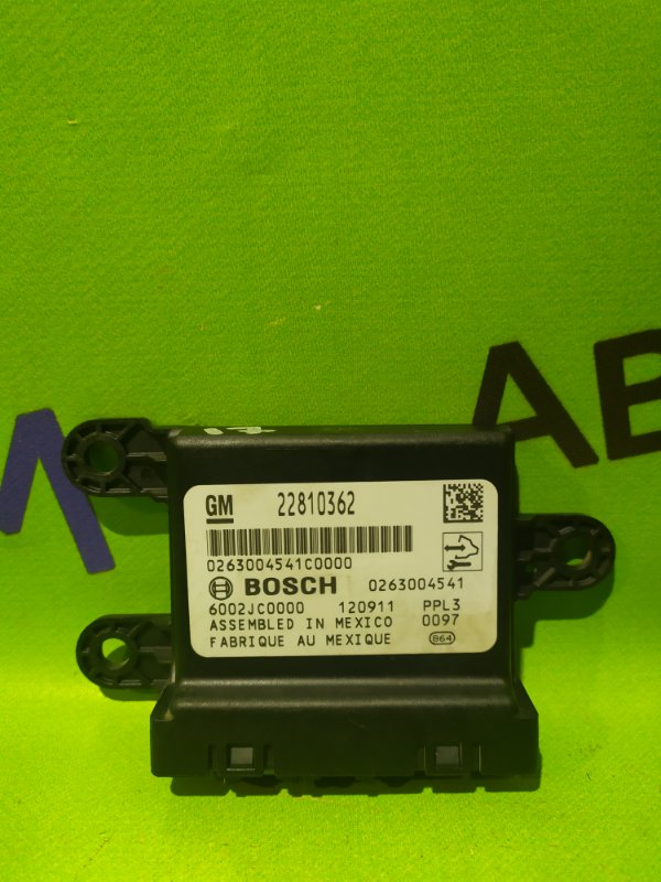 Блок электронный Opel Astra J Gtc P10 A14NET 2012 (б/у)