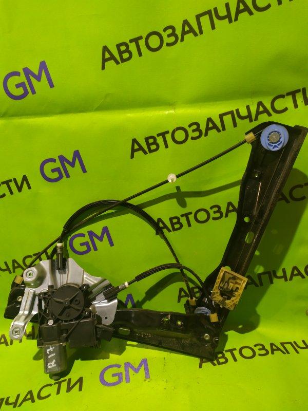 Стеклоподъемник Opel Astra J Gtc P10 A14NET 2012 передний правый (б/у)
