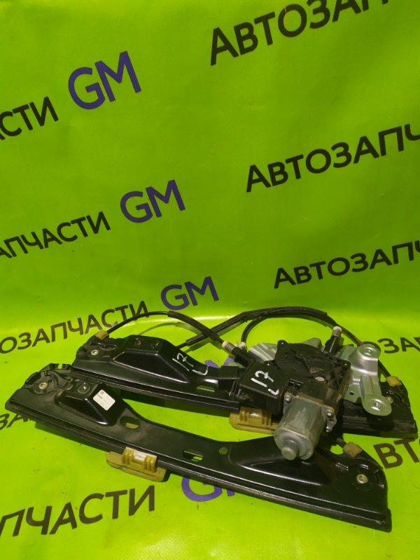 Стеклоподъемник Opel Astra J Gtc P10 A14NET 2012 передний левый (б/у)