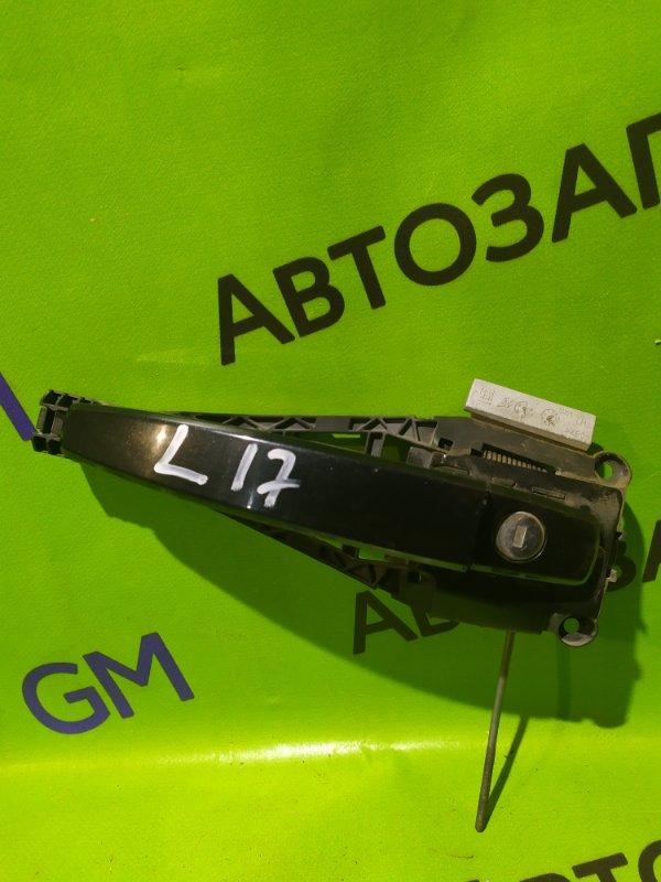 Ручка двери внешняя Opel Astra J Gtc P10 A14NET 2012 передняя левая (б/у)