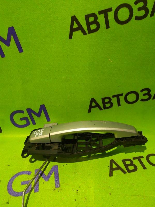 Ручка двери внешняя Opel Astra Gtc L08 передняя правая (б/у)