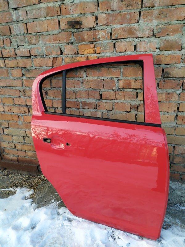 Дверь Opel Corsa D Z14XEP 2008 задняя правая (б/у)