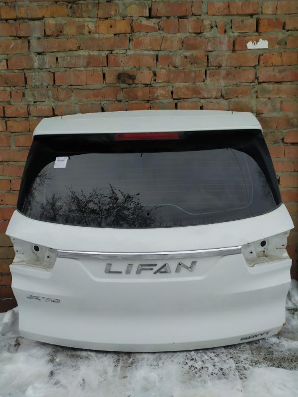 Дверь багажника Lifan X70 LF7201B LF483Q 2018 (б/у)