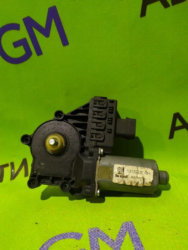 Мотор стеклоподъемника Opel Zafira B Z18XER задний правый (б/у)