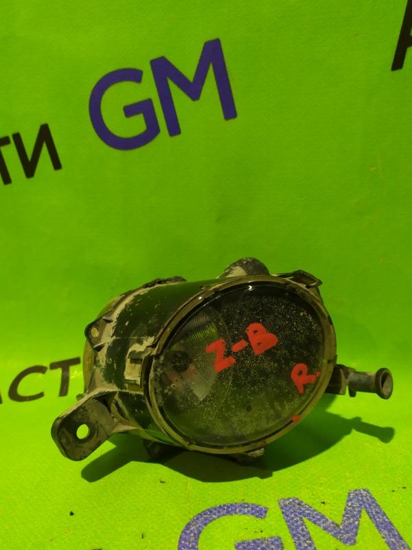 Фара противотуманная Opel Zafira B передняя правая (б/у)