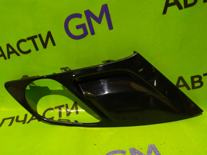 Рамка противотуманной фары Opel Zafira C P12 2013 передняя правая (б/у)