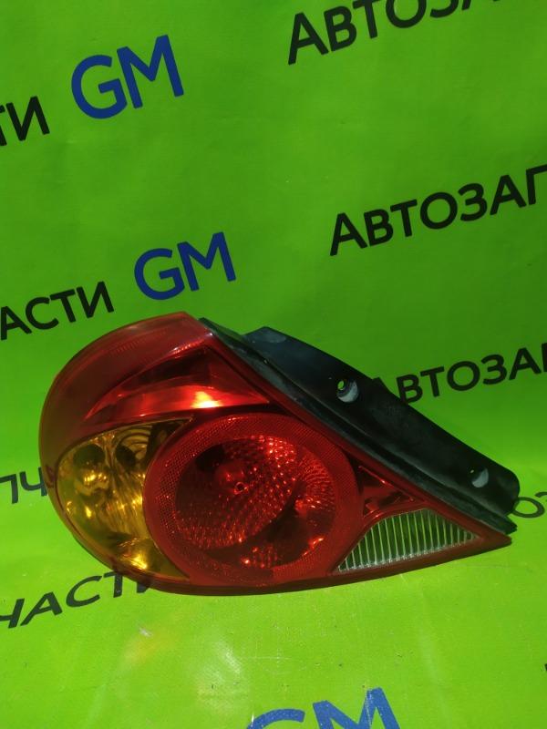 Фонарь Kia Spectra SD S6D 2007 задний левый (б/у)
