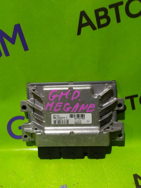 Блок управления двигателем Renault Megane BZ0G M4R713 2011 (б/у)