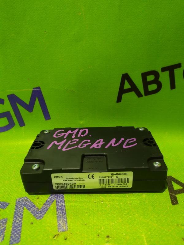 Блок электронный Renault Megane BZ0G M4R713 2011 (б/у)