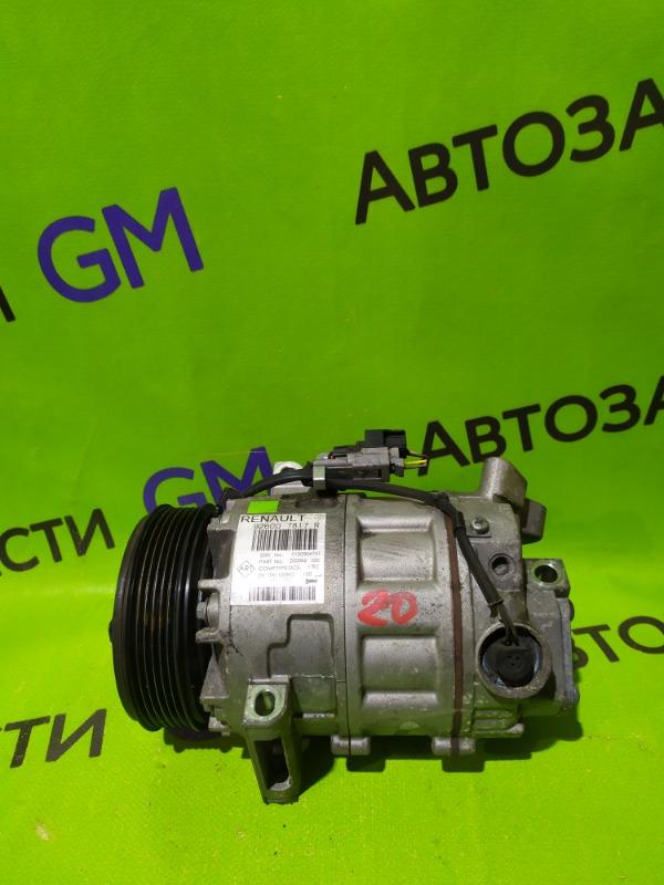 Компрессор кондиционера Renault Megane BZ0G M4R713 2011 (б/у)