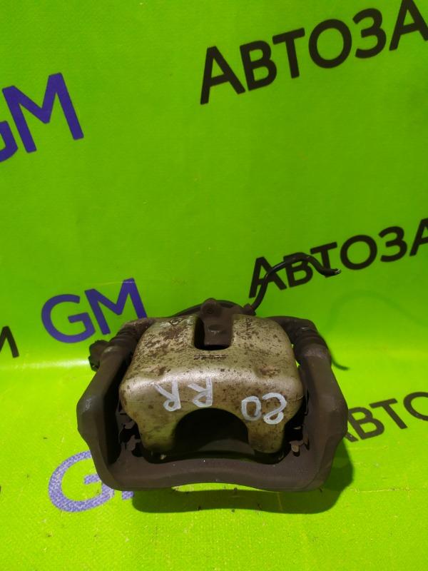 Суппорт Renault Megane BZ0G M4R713 2011 задний правый (б/у)