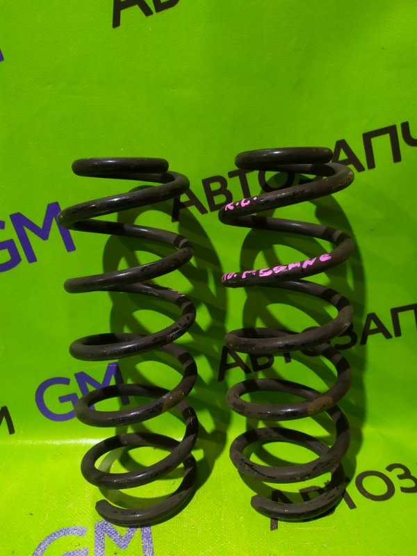 Пружина Renault Megane BZ0G M4R713 2011 задняя (б/у)