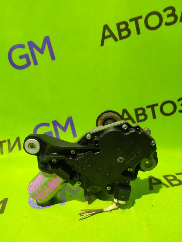 Моторчик стеклоочистителя Renault Megane BZ0G M4R713 2011 задний (б/у)