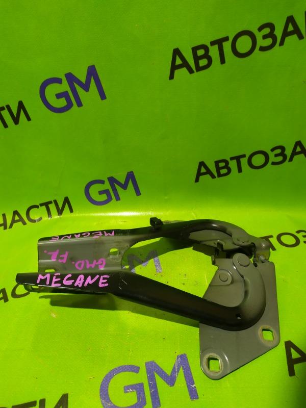 Петля капота Renault Megane BZ0G M4R713 2011 (б/у)