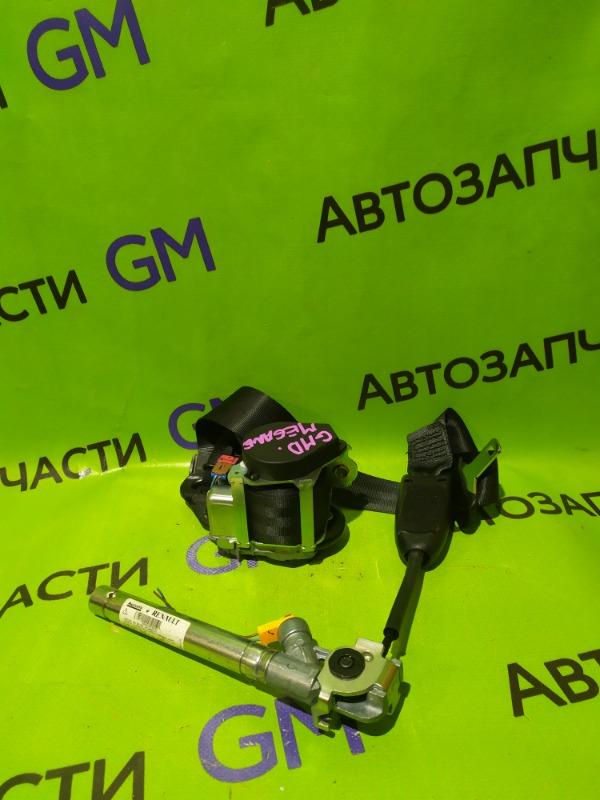 Ремень безопасности Renault Megane BZ0G M4R713 2011 передний правый (б/у)