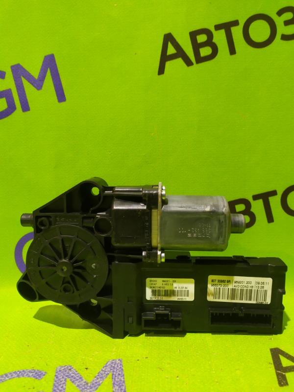 Мотор стеклоподъемника Renault Megane BZ0G M4R713 2011 (б/у)
