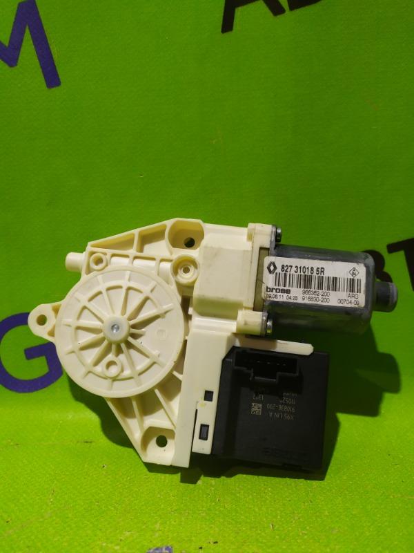 Мотор стеклоподъемника Renault Megane BZ0G M4R713 2011 задний левый (б/у)