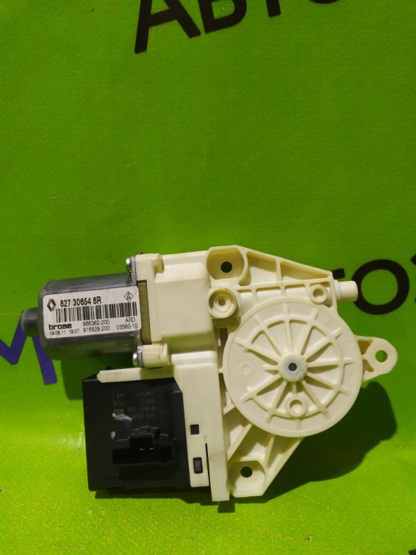 Мотор стеклоподъемника Renault Megane BZ0G M4R713 2011 задний правый (б/у)